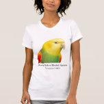 Double Yellow Headed Amazon Scoop Neck Tshirt