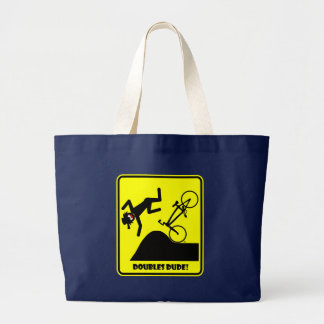 DOUBLES DUDE-41 LARGE TOTE BAG