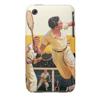 Doubles Tennis Match Case-Mate iPhone 3 Cases