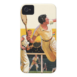 Doubles Tennis Match Case-Mate iPhone 4 Cases