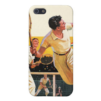 Doubles Tennis Match iPhone 5 Cover