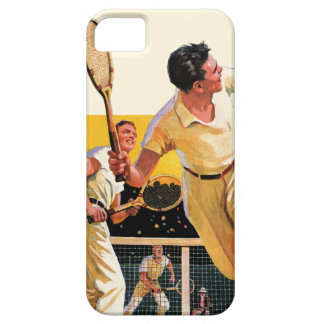Doubles Tennis Match iPhone 5 Covers