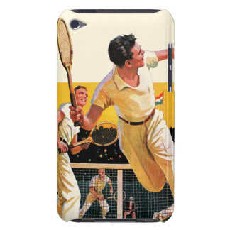 Doubles Tennis Match iPod Touch Cover