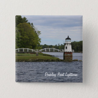 Doubling Point Lighthouse Magnet 15 Cm Square Badge