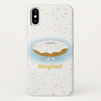 Doughnut and Sprinkles | iPhone X Case