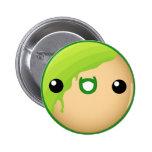 Doughnut Button Green