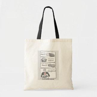'Doughnut' Divorce Budget Tote Bag