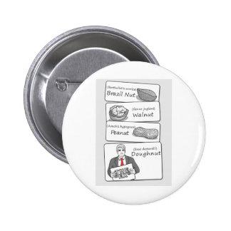 Doughnut Divorce Button