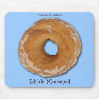 DOUGHNUT Funny Junk Food Edible Mousepad