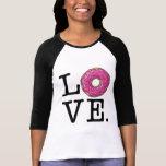 Doughnut Love Funny Food T-Shirt