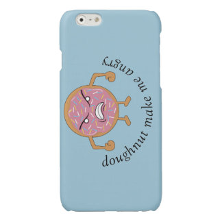 doughnut make me angry iPhone 6 plus case