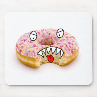 doughnut monster mouse mat