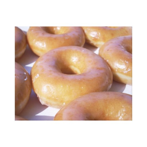 Doughnut on Wrapped Canvas Gallery Wrapped Canvas