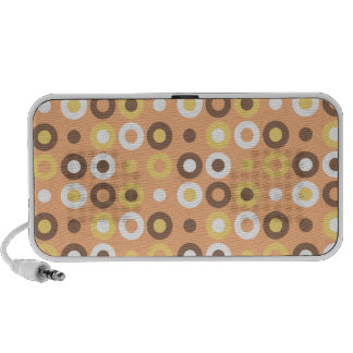 Doughnut Pattern Speakers Pink Background
