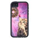 Doughnut Praying Cat iPhone 5 Case