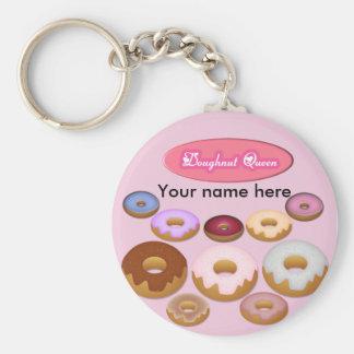 Doughnut Queen Keychain
