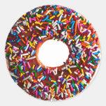 Doughnut Round Sticker