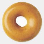 Doughnut Round Stickers