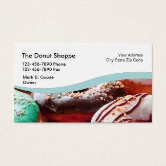 Doughnut Shop Business Card