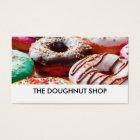 Doughnut Shop Image Businesscards Business Card