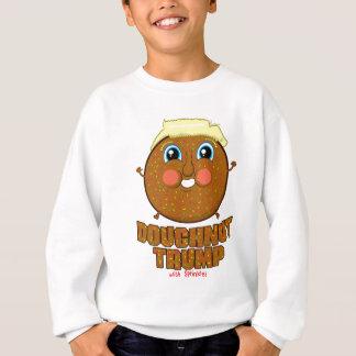 Doughnut Trump Sweatshirt