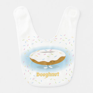Doughnut with Sprinkles | Baby Bib