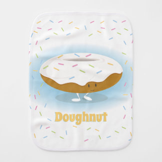 Doughnut with Sprinkles | Burp Pad Burp Cloth