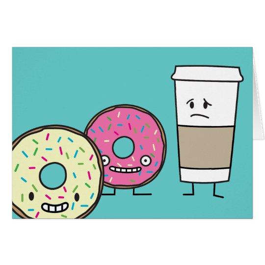 Doughnuts and Coffee Card