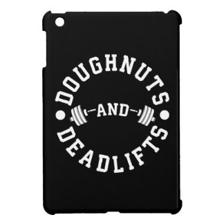 Doughnuts and Deadlifts - Carbs - Funny Workout iPad Mini Case