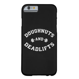 Doughnuts and Deadlifts - Funny Gym Workout Barely There iPhone 6 Case