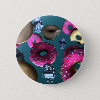 Doughnuts and Toy Robot 03 Button