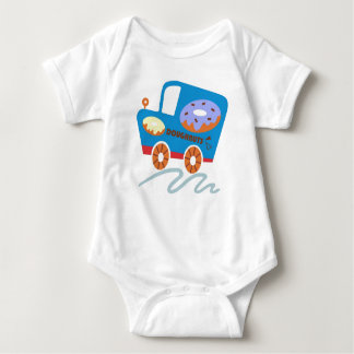 Doughnuts Car Baby Bodysuit