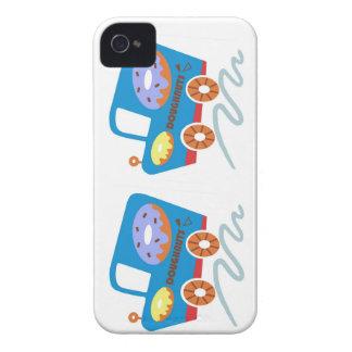 Doughnuts Car iPhone 4 Case-Mate Case