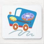 Doughnuts Car Mousemat