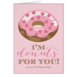Doughnuts For You Valentine's Day Cards