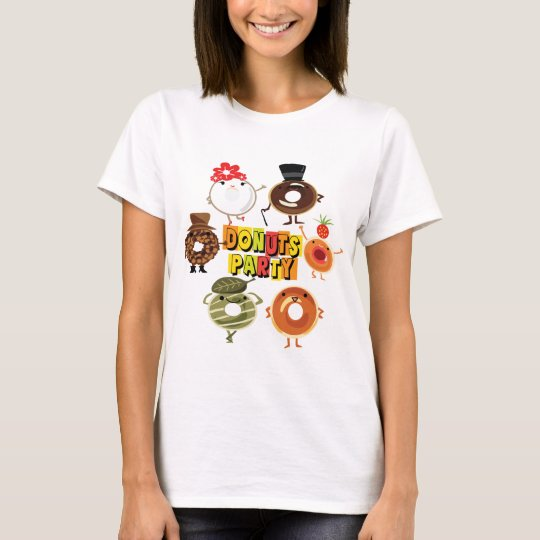 Doughnuts Party T-Shirt