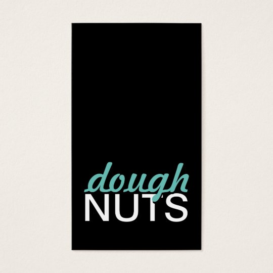 doughnuts punch card