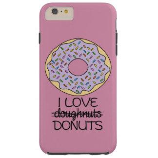 Doughnuts vs. Donuts Tough iPhone 6 Plus Case