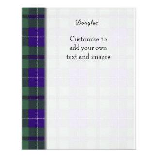 Douglas clan Plaid Scottish tartan 11.5 Cm X 14 Cm Flyer
