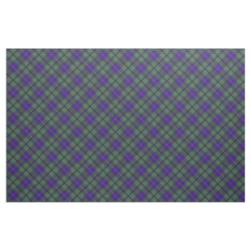 Douglas clan Plaid Scottish tartan Fabric