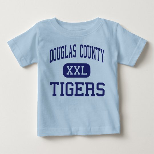 Douglas County - Tigers - High - Douglasville Baby T-Shirt