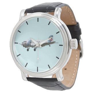 Douglas Dakota DC3 G-AMSV dash dial markings Watch