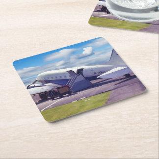 Douglas Dakota DC3 Square Paper Coaster