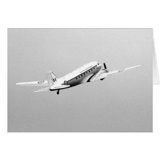 Douglas DC3 Dakota Plane Card