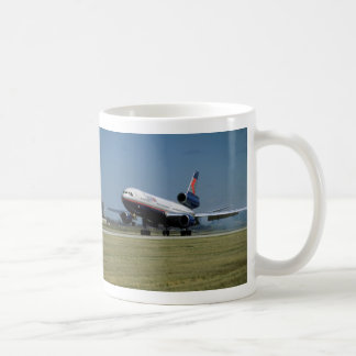 Douglas DC-10 on take-off Coffee Mug