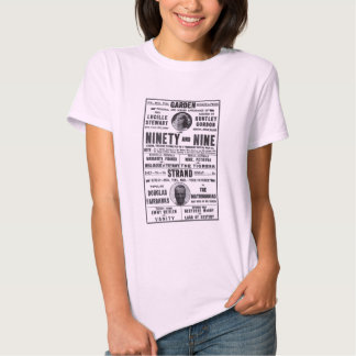 Douglas Fairbanks 1917 vintage movie ad T-shirt