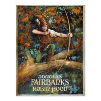 Douglas Fairbanks as Robin Hood Postcard