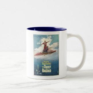 Douglas Fairbanks Thief of Bagdad movie poster Two-Tone Mug