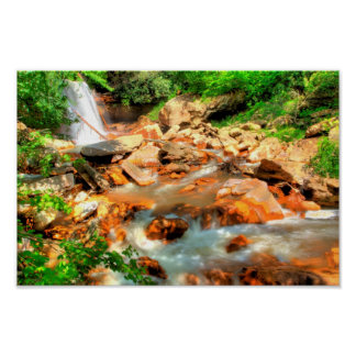 Douglas Falls, West Virginia Poster