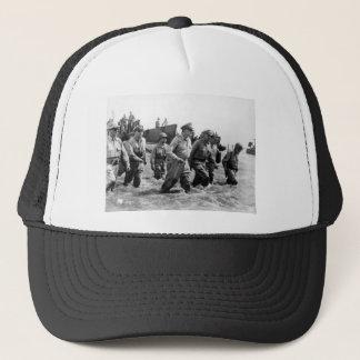 Douglas MacArthur lands at Leyte Philippine Island Trucker Hat